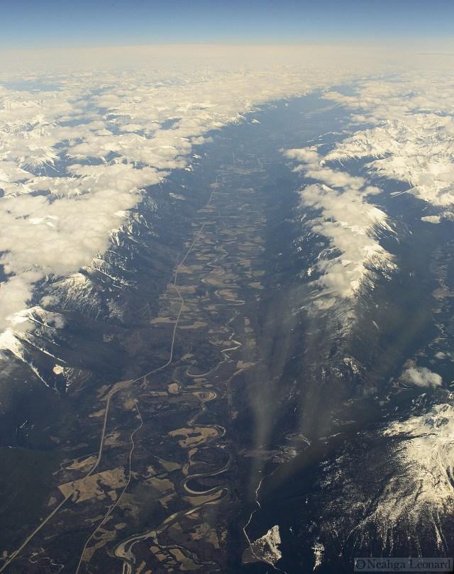 Southwest CR George Halmazna Northeast Alaska straight ahead – We call it the eagle highway. Fisher Range.